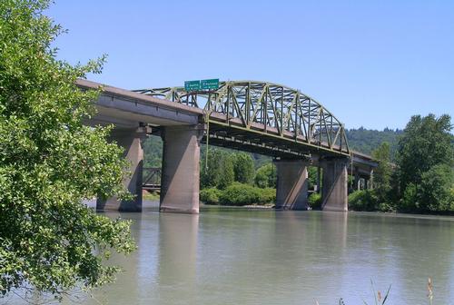 Cowlitz River Bridge