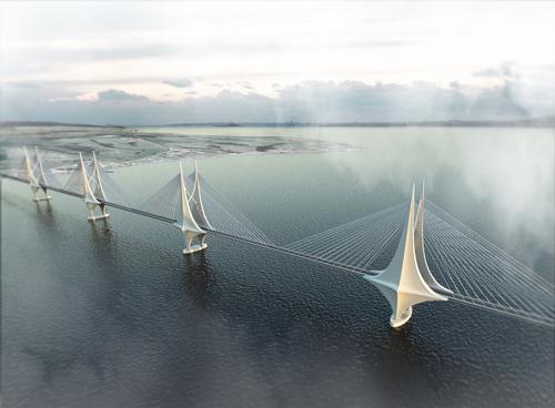 Kangaroo Island Bridge rendering