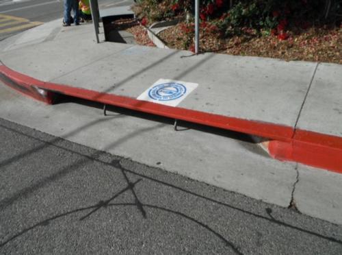 Malibu storm drain