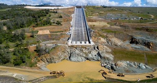 Oroville Dam Spillway Passes Testing : PaintSquare News