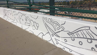 Town Paints Bridge by the Numbers