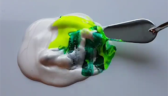 Artists' Paint-Mixing Videos Go Viral