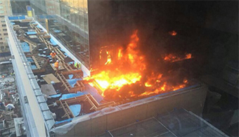 Fire Hits NYU Hospital Construction Site