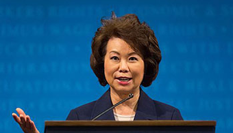 Trump Picks Elaine Chao for DOT Secretary