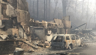 Wildfires Exact Human, Structural Toll