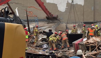 Officials Probe Deadly Building Collapse