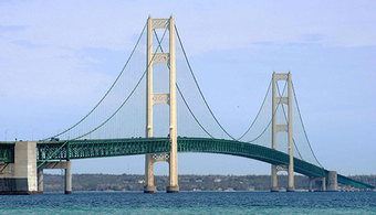 Bids Invited for Mackinac Bridge