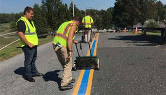 Feds: Remove 'Thin Blue Line' from Roads