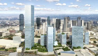 Dallas Getting New 'Smart District,' Tall Tower