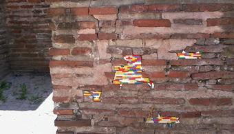 LEGO Bricks Save Crumbling Buildings