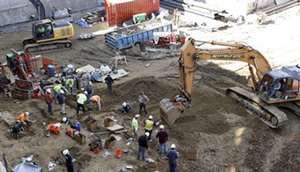 Human Skeletons Tallied at Building Site