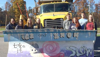PA Students Proffer Plow Art