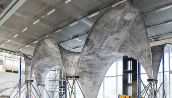 Swiss Researchers Develop Ultra-Thin Concrete Roof