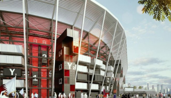 Shipping Container Stadium Slated for 2022