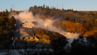 Asbestos Complicates Oroville Dam Cleanup