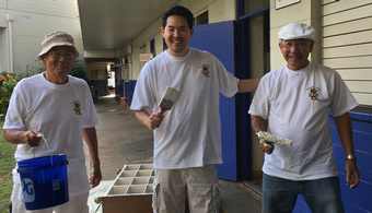 Painters Union Takes Part in Community Day