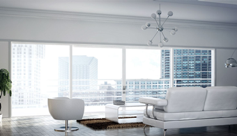 Sliding Doors Designed for High-Rise Balconies