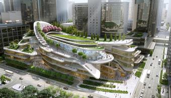 Beijing Civic Center Will Have Ski Slope Roof
