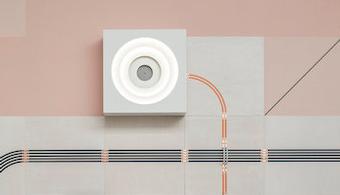 Electric Wallpaper Lights Up Design Fair