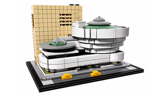 Build the Guggenheim Museum with Legos