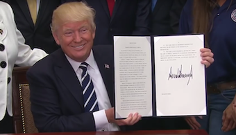 Trump Signs Order to Expand Apprenticeships
