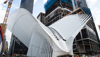$4B World Trade Center Oculus is Still Leaking