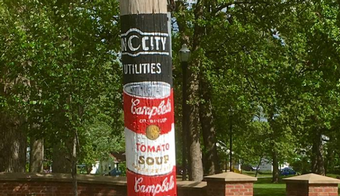 Art Adorns City's Utility Poles