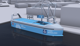 Self-Driving Ship to Set Sail in 2018