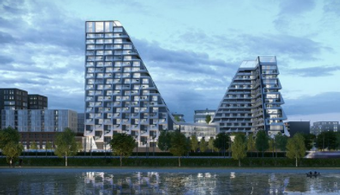 Architect Wins Design Contest with Looping Towers