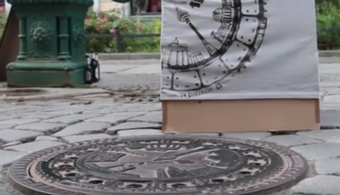 'Pirate Printers' Turn City Surfaces into Stamps