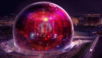 Las Vegas' MSG Sphere Breaks Ground