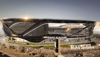 $1.2B Vegas Stadium Ready for Trusses