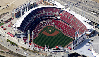 Repairs Needed at OH's Great American Ballpark