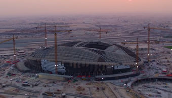 2022 World Cup Stadium Nears Completion