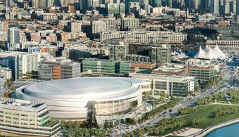 $1B CA Arena Nears Top Off