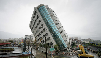 Earthquake Hits Taiwan, Crumbles Multiple Buildings