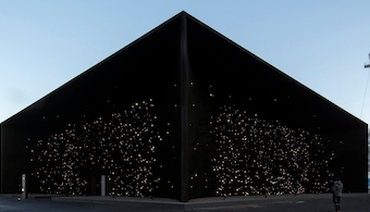 Darkest Building on Earth Opens at Olympics