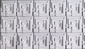 Wall Panels Pay Homage to Wright Tiles