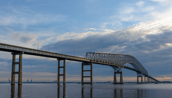 Francis Scott Key Bridge Span Coating Contract Awarded