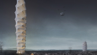 Collapsible Skyscraper Wins Design Competition
