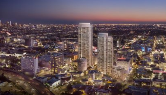 $1B Twin Tower Development Coming to Hollywood