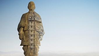 Progress Made on World's Tallest Statue