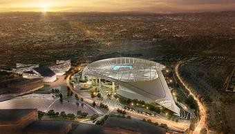 $2.6B LA Stadium Taking Shape