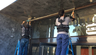 Exoskeleton Developed for Physical Labor