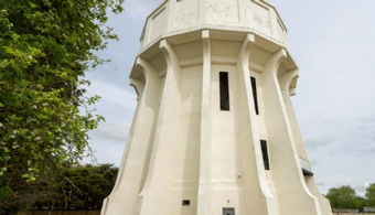 Water Tower-Turned-Home Hits Market in England