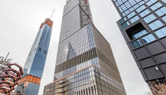 Hudson Yard's Residential Tower Tops Out