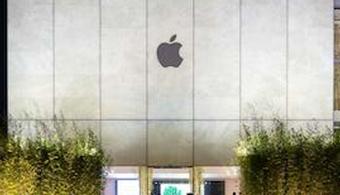 Apple Unveils Facade at New Macau Store