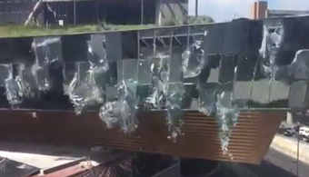 New Mall in Mexico City Partially Collapses