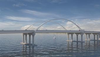 1c6e34a5135 Cracks Halt Pensacola Bay Bridge Construction