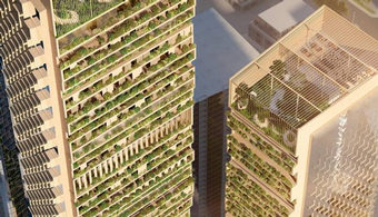 'Green Spine' Wins $2B Design Competition